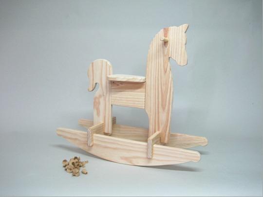 Maba online tu tienda de juguetes y art culos de madera - Caballito de madera ikea ...