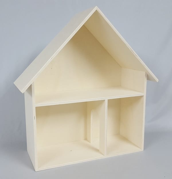 casita madera tres divisiones