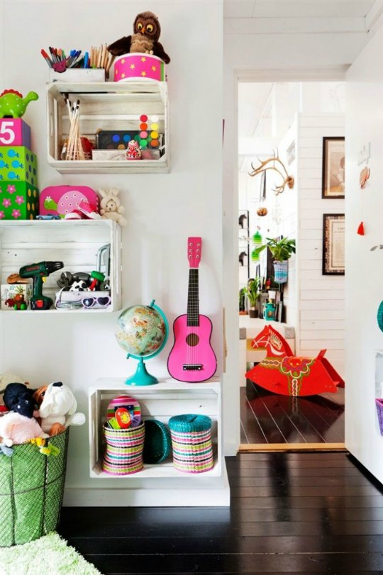 Tendencias decoraci n infantil guarda los juguetes en - Cajones guarda juguetes ...