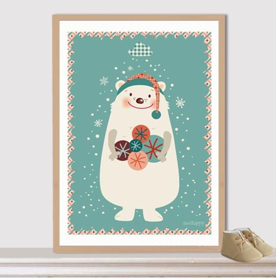 lamina-oso-navidad