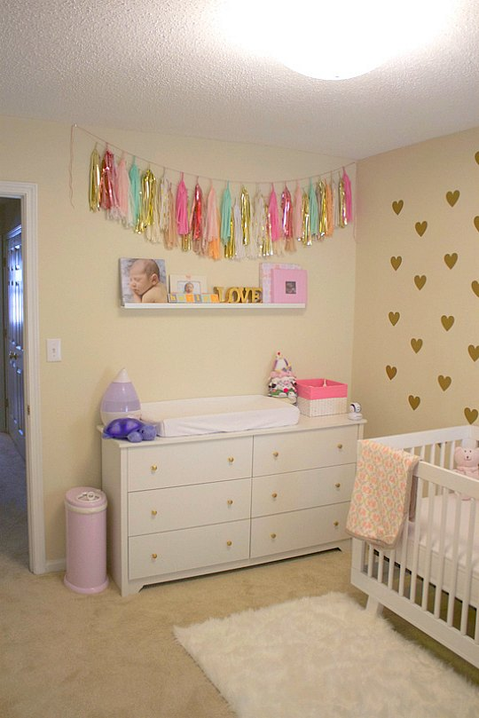 Decoracion dormitorio bebe nina ideas de disenos - Decoracion dormitorios ninas ...