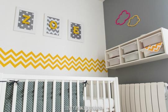 El dormitorio de zo decoideas net for Habitacion bebe moderna