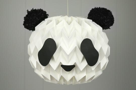 Hazlo tú mismo: Lámpara Panda