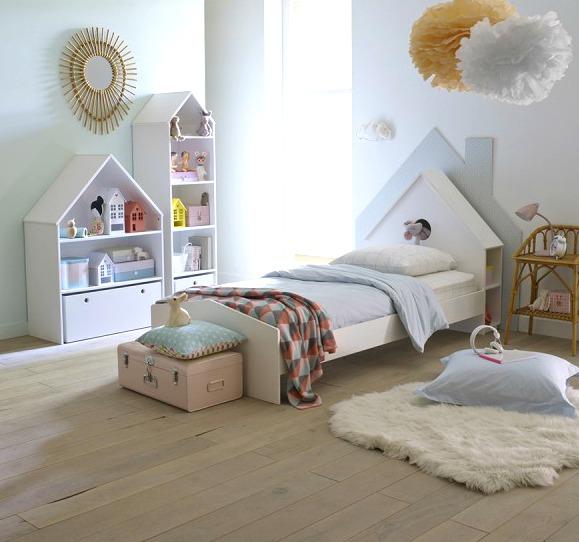 Inspiración muebles infantiles con diseño de casitas  Decoideas.Net