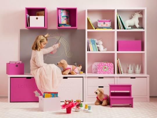 Mobiliario infantil for Muebles habitacion infantil nina