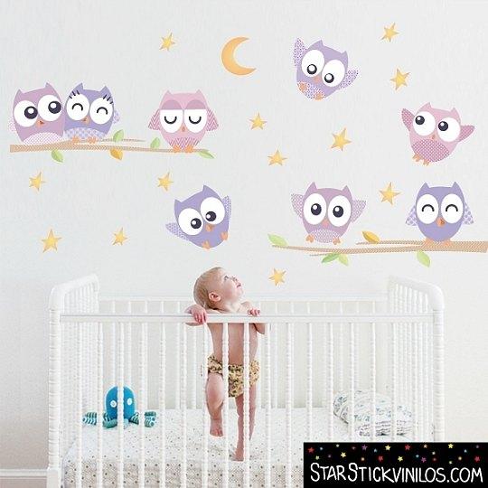 Decora la habitaci n del beb con vinilos starstick for Habitacion bebe con vinilos