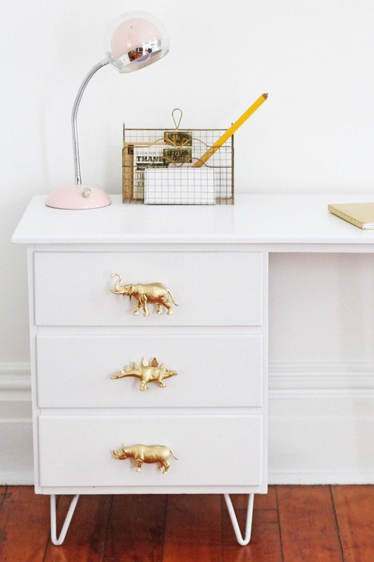 DIY cómoda original para la habitación infantil
