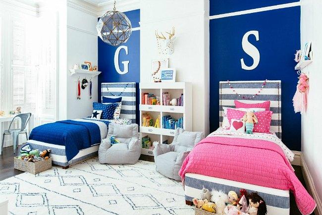 Proyecto decoración habitación para niño y niña