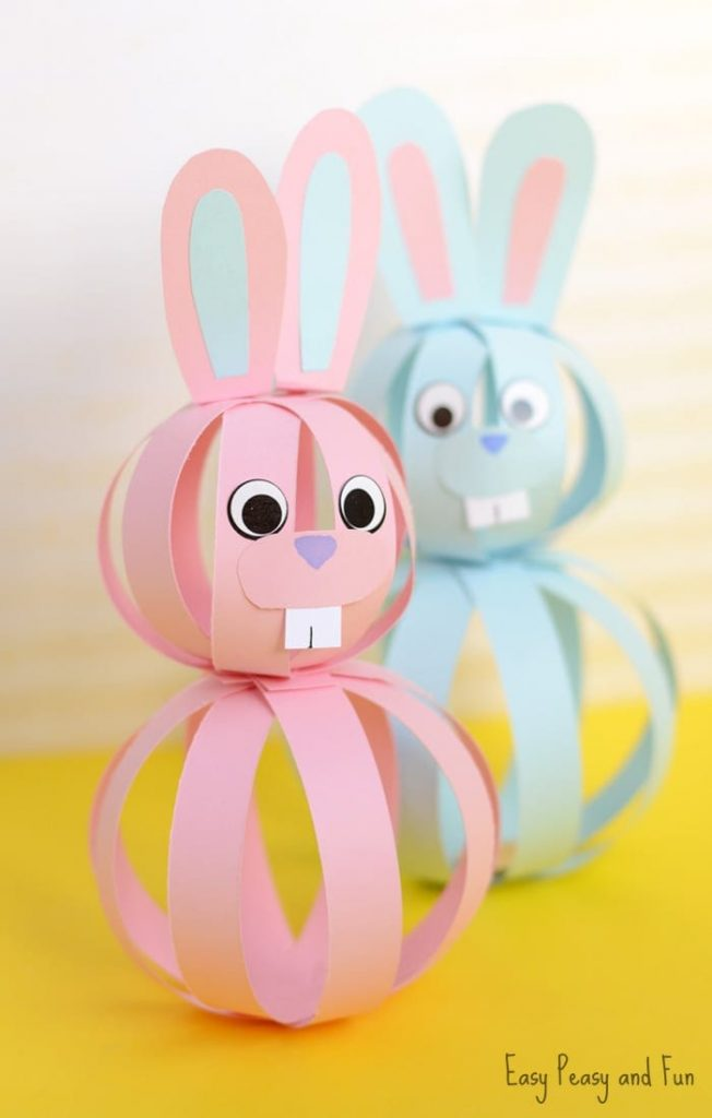 Las mejores manualidades infantiles para Pascua