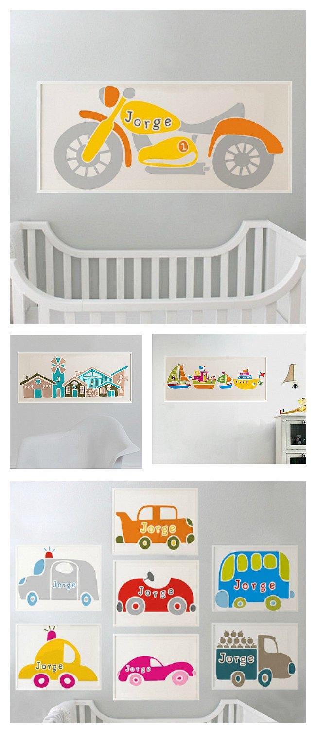 Láminas infantiles personalizadas de Lagoa