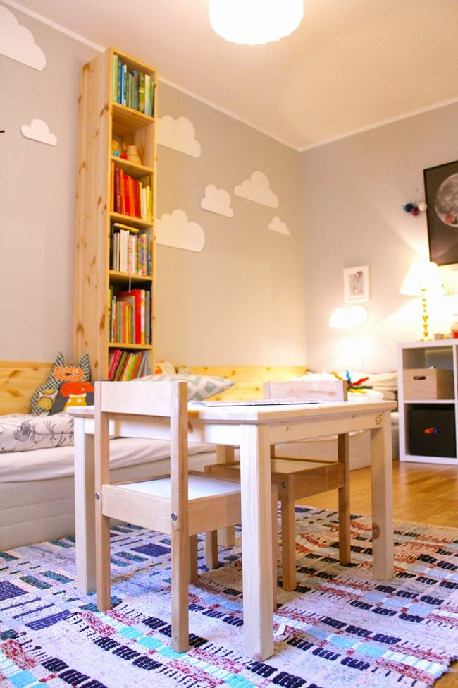 Habitaciones infantiles con dos camas - Habitaciones infantiles compartidas ...
