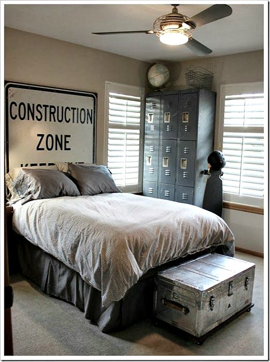 6 ambientes juveniles para chicos for Cheap bedroom ideas for men
