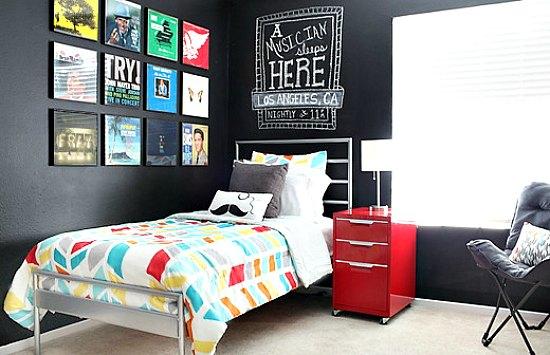 6 ambientes juveniles para chicos - Pinturas para habitaciones juveniles ...