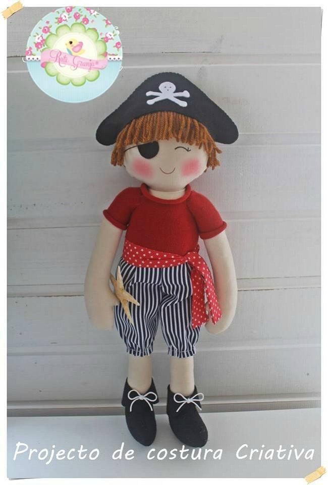 Decoración infantil artesanal muñecos