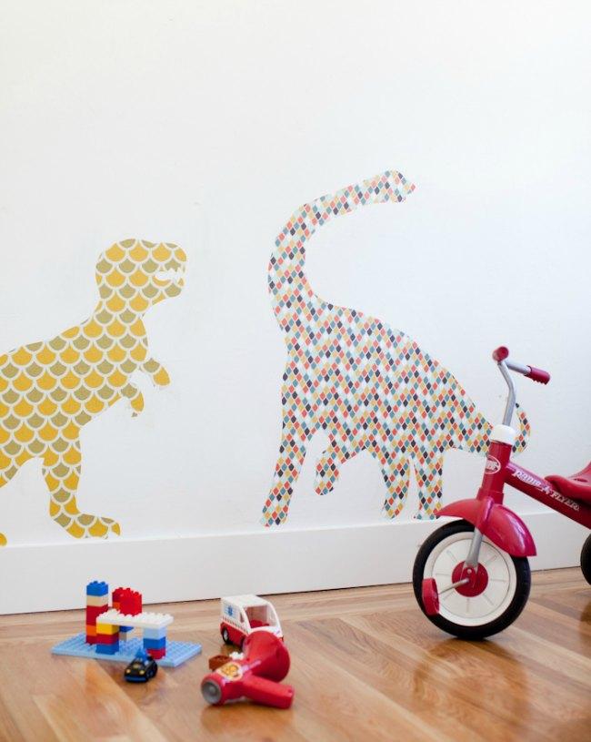 vinilos-dinosarurios-diy