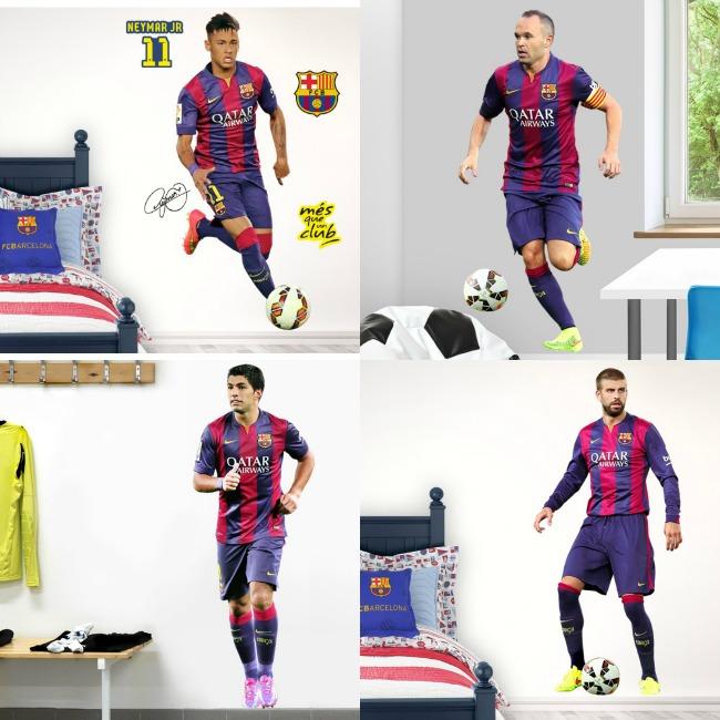 Los jugadores del Barça en vinilo