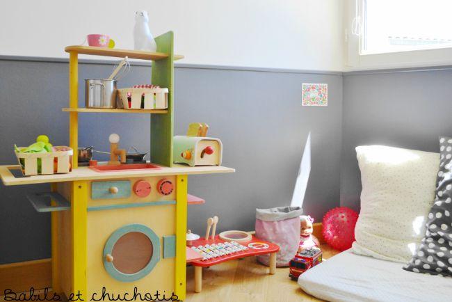 Un dormitorio infantil con muebles de ikea decoideas net for Muebles habitacion ninos