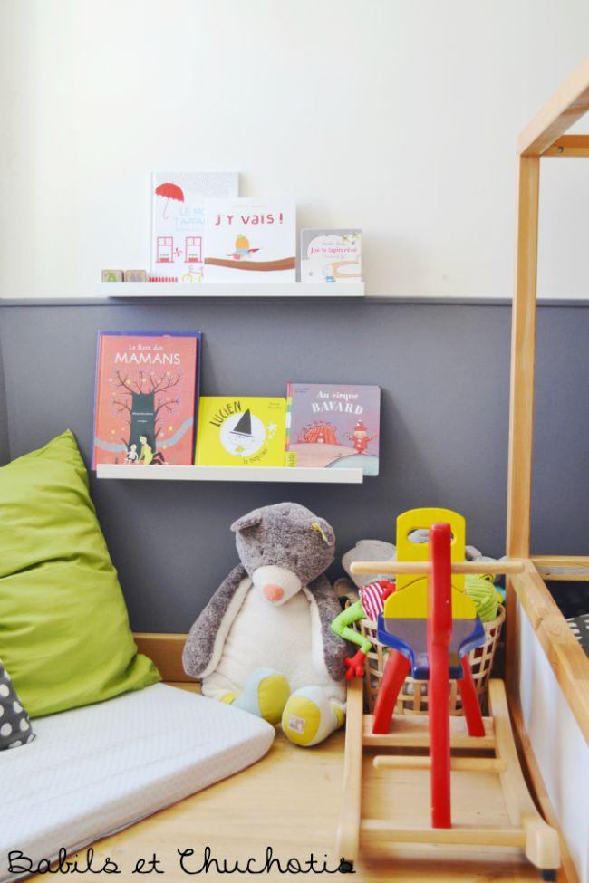 Un dormitorio infantil con muebles de ikea for Muebles infantiles ikea