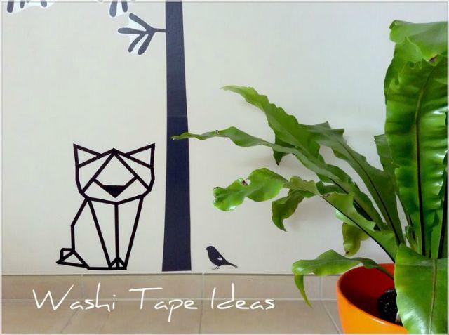 Decoraci n barata con washi tape - Decorar con washi tape ...