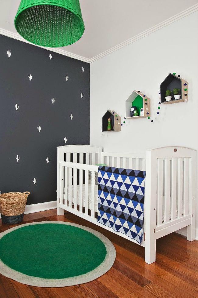 Habitación bebé inspiración Cactus