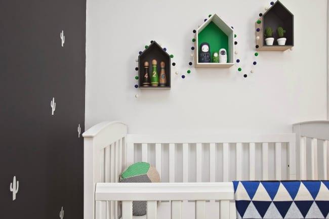 Habitaci n beb inspiraci n cactus decoideas net ideas - Ideas decoracion habitacion bebe ...