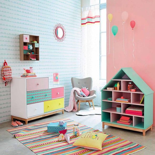 Chambre Bebe Kitty :  de ambientes en la web oficial de Maison du Monde  maisonsdumondecom