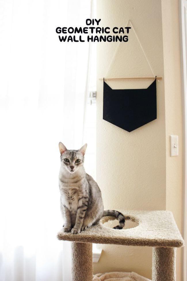 Hazlo tú mismo: banderola gato