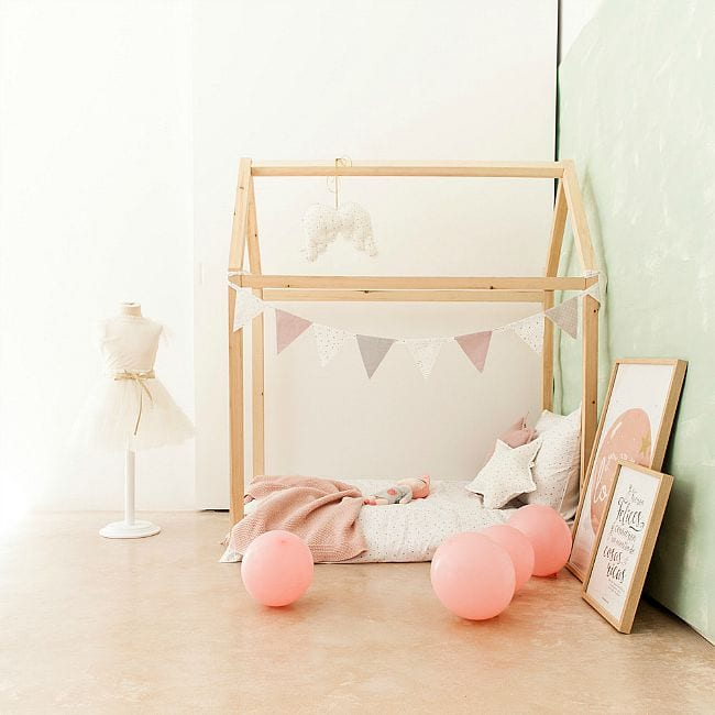 Cama casita de bel and shop decoideas net - Cama casita infantil ...