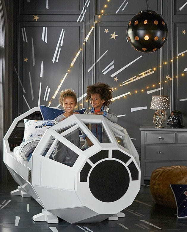 Dormitorio infantil star wars decoideas net for Decoracion de cuarto star wars
