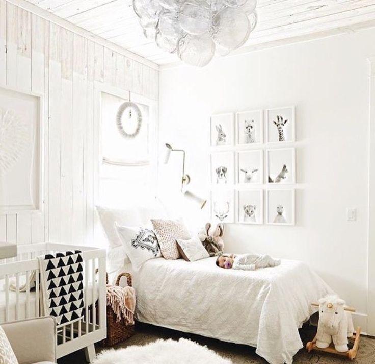 Habitacin compartida con cama y cuna DECOIDEASNET Ideas de