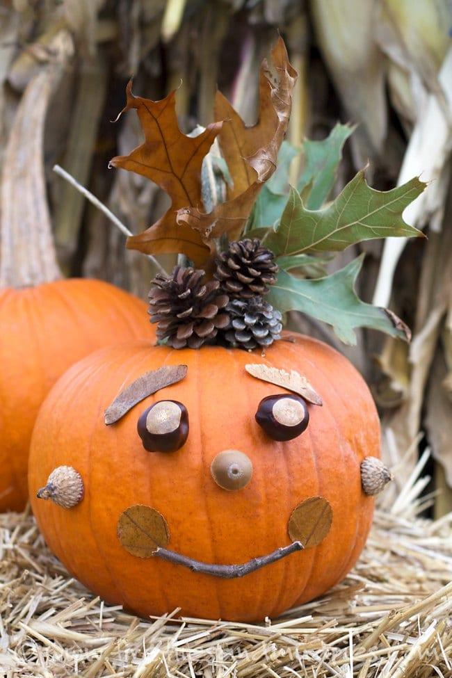 Ideas para decorar Calabazas con nios DECOIDEASNET Ideas de