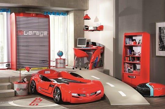 Colección BiConcept con coches cama y muchos complementos temáticos