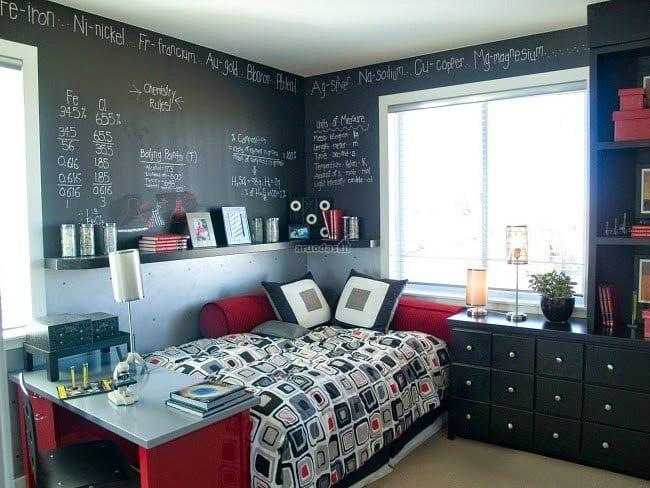 Organizar la habitaci n juvenil decoideas net - Paredes habitacion juvenil ...