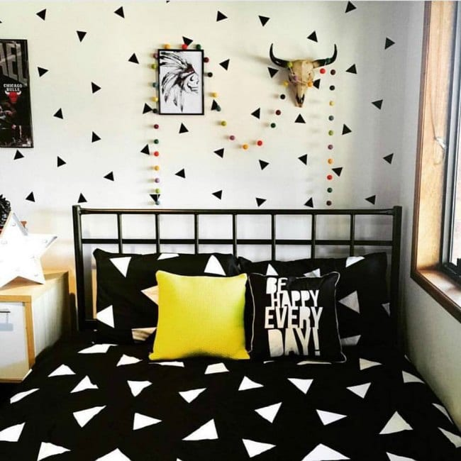 Las mejores habitaciones juveniles para chico for Vinilos juveniles chico