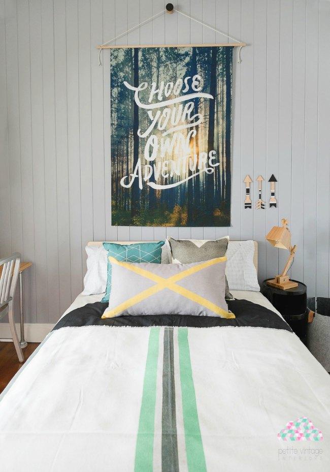 Las mejores habitaciones juveniles para chico decoideas for Dormitorios estudiantes decoracion