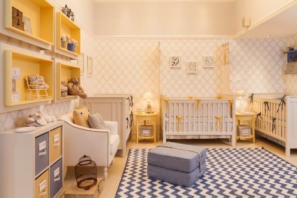 Dormitorio de bebé para tres