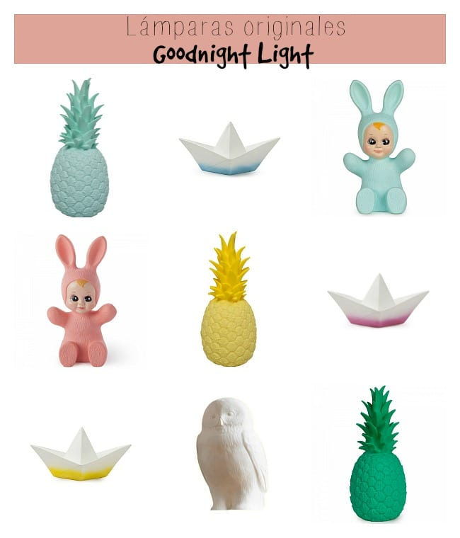 L mparas originales goodnight light decoideas net - Lamparas de techo para bebes ...