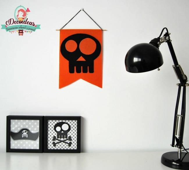 Manualidades Halloween 2015: banderola decorativa