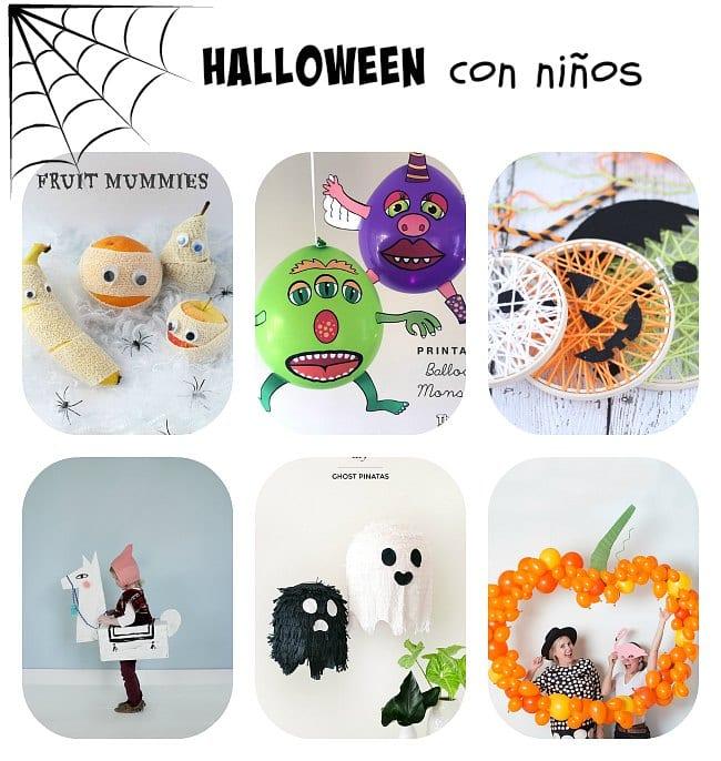 Las mejores ideas de Halloween para niños
