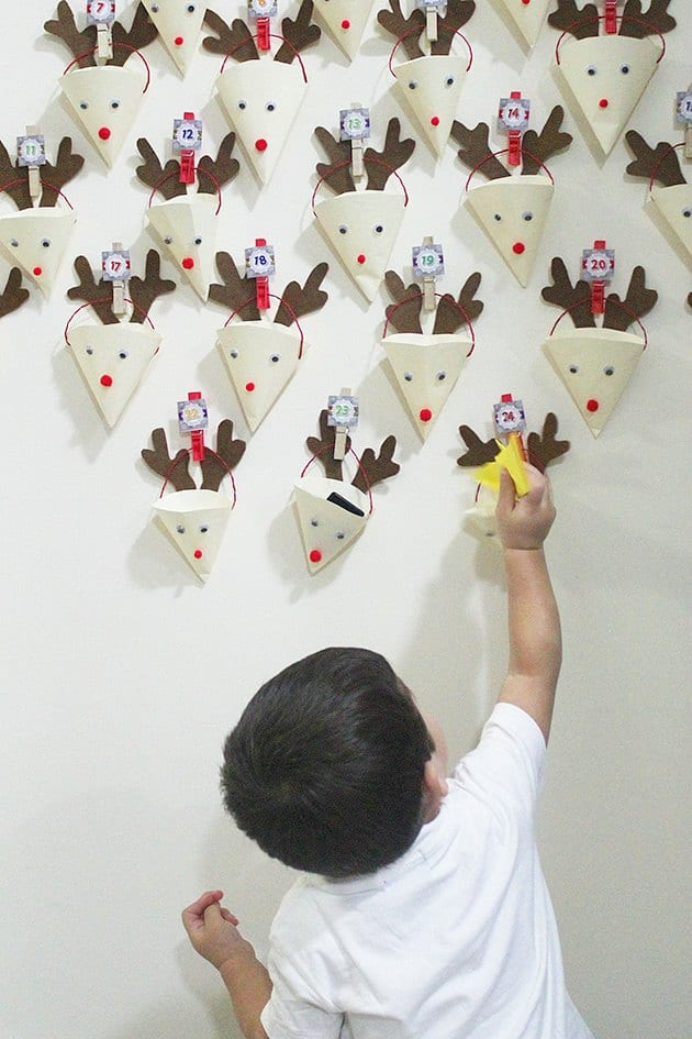 Calendarios de adviento para hacer con niños