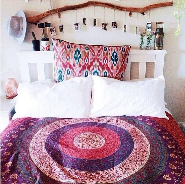 Decorar con ramas las habitaciones infantiles - Decoracion hippie habitacion ...