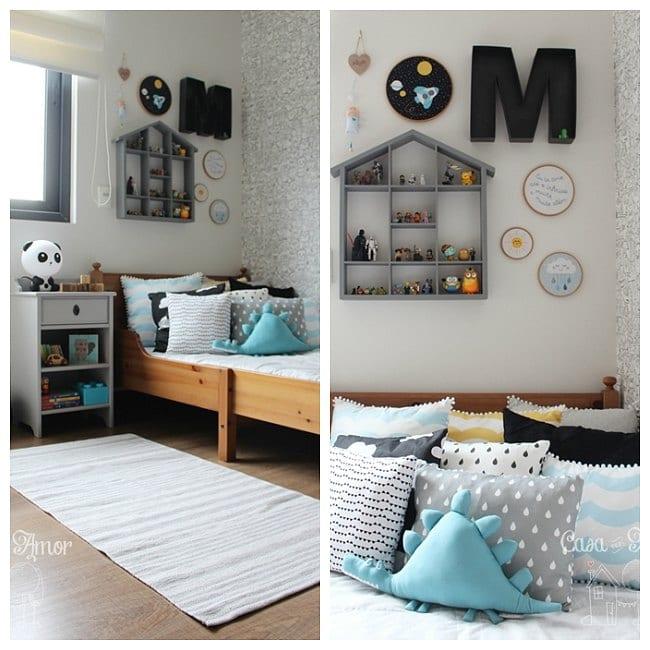 Una habitaci n de ni o llena de buenas ideas decoideas net - Decoracion habitacion de ninos ...