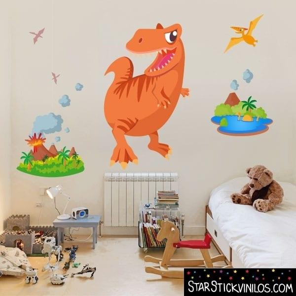 vinilo-dinisaurio-rex