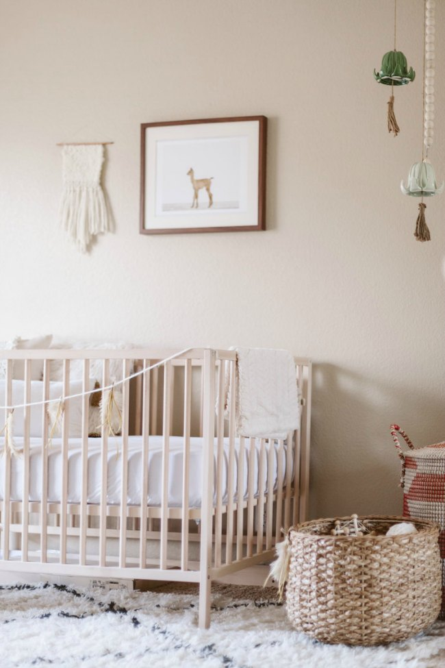 6 habitaciones de beb s en tonos naturales decoideas net for Deco habitacion bebe