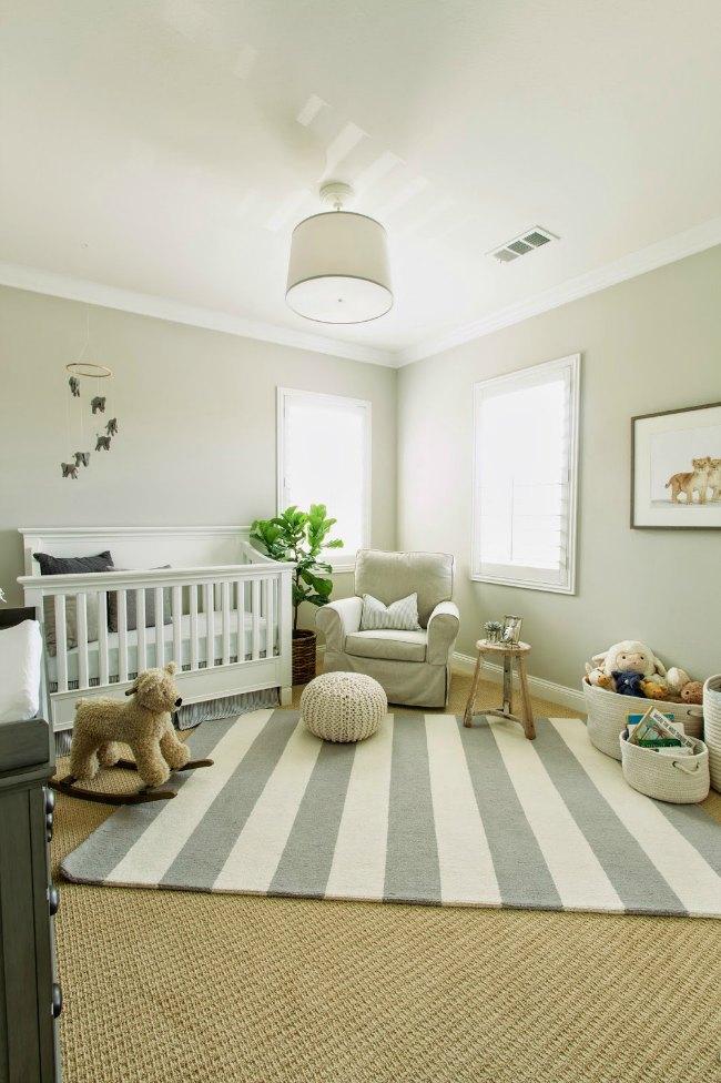6 habitaciones de beb s en tonos naturales - Colores habitacion bebe ...