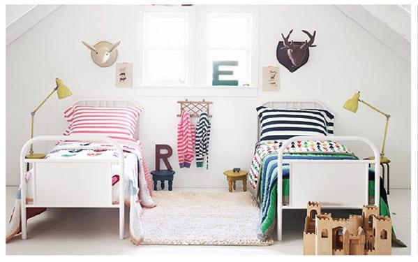 6 habitaciones compartidas por ni o y ni a decoideas net - Habitaciones infantiles compartidas ...