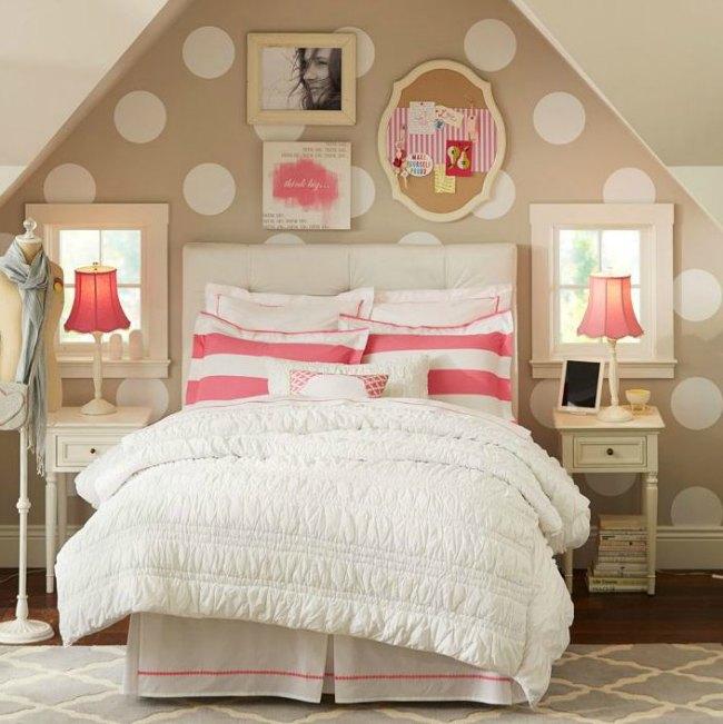 Ambientes de habitaciones juveniles para chicas con