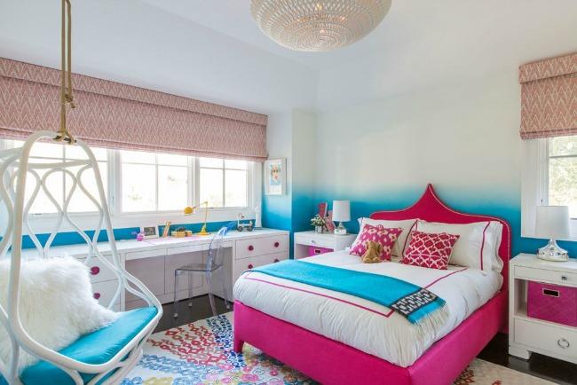 Ambientes de habitaciones juveniles para chicas con mucho for Sillas para habitacion juvenil
