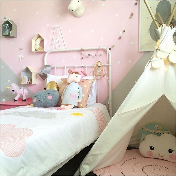 8 Habitaciones Para Ni A En Rosa Y Verde Pastel