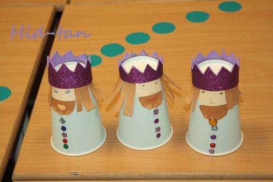 Manualidades de los Reyes Magos para niños